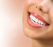 Healthy Smile. Teeth Whitening Stock Photos