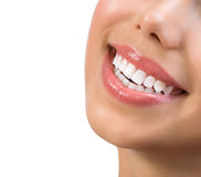 Healthy Smile. Teeth Whitening royalty free stock photo