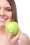 Healthy smiling woman Stock Photo