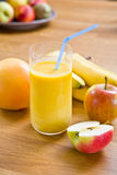 A healthy smoothie Stock Photo