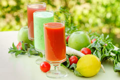 Healthy smoothie royalty free stock photography