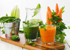 Healthy  smoothie Stock Images
