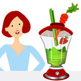 Healthy Smoothies Stock Image