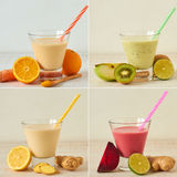 Healthy smoothies Royalty Free Stock Image