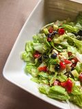 Healthy snack: colourful salad Stock Photos