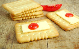Healthy Snack Cracker Biscuit Royalty Free Stock Images