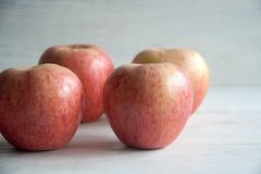 Fresh big apples. Healthy snack for every day: big apples royalty free stock photos