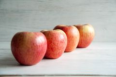 Fresh big apples. Healthy snack for every day: big apples stock photo