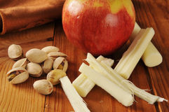 Healthy snack food Royalty Free Stock Photography