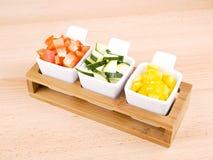 Healthy snack - fresh vegetable Stock Photos