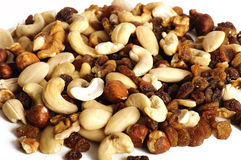 Healthy snack, mixed nuts Royalty Free Stock Image