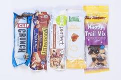 Healthy snacks Stock Photos