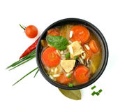 Healthy Soup Bowl stock images