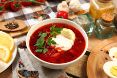 Healthy soup Stock Image