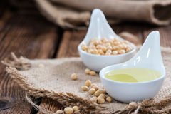 Healthy Soy Oil Royalty Free Stock Photos