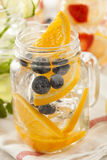 Healthy Spa Water with Fruit Royalty Free Stock Images