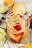 Healthy Spa Water with Fruit Royalty Free Stock Photo
