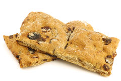 Healthy sports cookies Stock Image