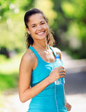 Healthy sporty woman Royalty Free Stock Images