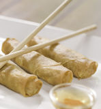 Healthy spring roll Stock Photography