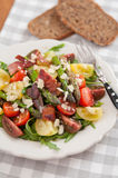 Healthy Spring salad with asparagus Stock Photography