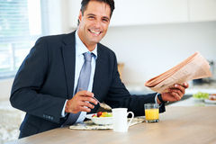 A healthy start to the day Royalty Free Stock Image