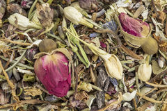 Healthy stomach herbal tea Royalty Free Stock Photos