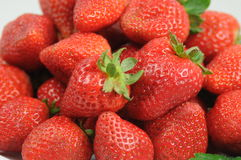 Healthy strawberries Stock Images