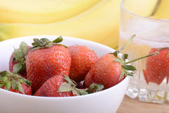 Healthy strawberry with fruits Stock Photography