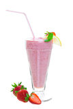 Healthy Strawberry Smoothie Royalty Free Stock Image