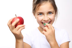 Healthy and strong teeth child Stock Photo