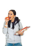 Healthy student girl Stock Photo
