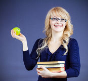 Healthy students and teachers Royalty Free Stock Photo