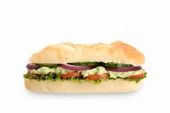 Healthy sub sandwich Stock Photos