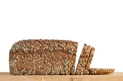 Healthy sunflower seed bread Stock Photo