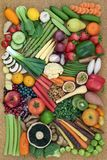 Healthy Super Food Collection Stock Images