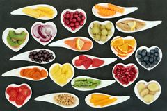 Healthy Super Foods Royalty Free Stock Photography