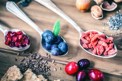 Healthy Superfood Royalty Free Stock Images