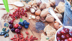 Healthy Superfood Royalty Free Stock Photo