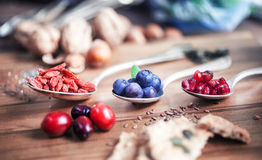 Healthy Superfood Stock Image