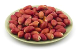 Red dates. Healthy sweet fruits red dates Stock Photos