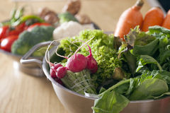 Healthy Table Stock Photography