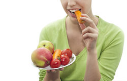 Healthy and tasty diet Stock Images