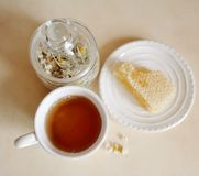 Healthy Tea-Party Stock Photography