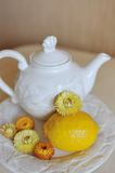 Healthy Tea-Party Royalty Free Stock Image