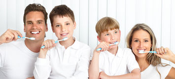 Healthy teeth Stock Image