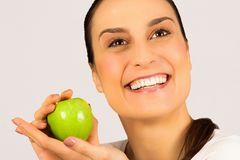 Healthy teeth dental care concept Royalty Free Stock Photo