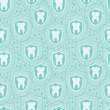Healthy teeth seamless pattern background Stock Photos