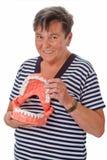 Healthy teeth Stock Image