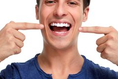 Healthy teeth Royalty Free Stock Image